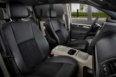 2015 Dodge Grand Caravan Interior.  Photo Credit Chrysler Media